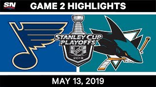 NHL Highlights | Blues vs. Sharks, Game 2 – May 13, 2019