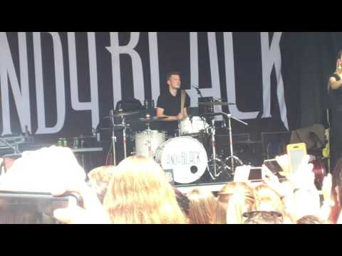 Andy Black and Juliet Simms- When We Were Young [COVER+LIVE]
