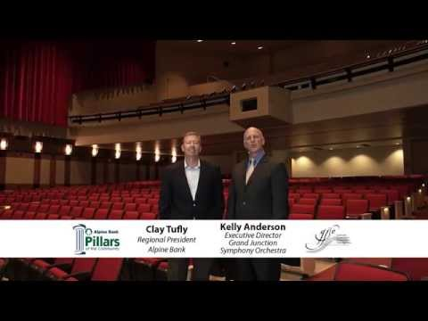 Alpine Bank Pillar of the Community - Grand Junction Symphony