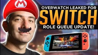 Overwatch for Nintendo Switch LEAKED! - Important Role Queue Update!