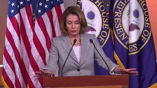 House Minority Leader Nancy Pelosi calls on Rep. John Conyers to resign