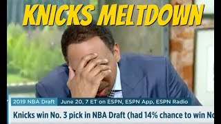 Stephen A Smith Knicks rants on ESPN First Take