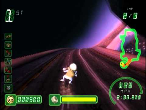 Crazy Frog Racer (PS2 Gameplay)