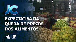 Expectativa da queda de preços dos alimentos em 2021