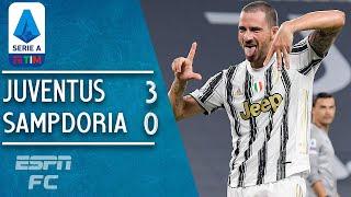 Cristiano Ronaldo & Juventus kick off the season with 3-0 win vs. Sampdoria | Serie A Highlights
