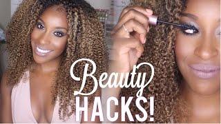 EASY Beauty Hacks Every Girl Should Know | Jackie Aina