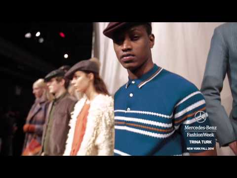 TRINA TURK: MERCEDES-BENZ FASHION WEEK Fall 2014 COLLECTIONS | MBFW