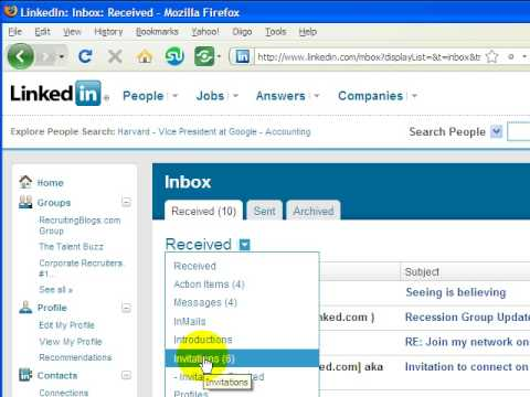 LinkedIn Training, New Changes -Bulk Accept Invitations changes