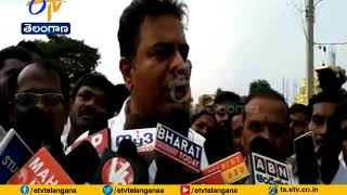 Defectors Pelting Stones is Common: KTR on Konda..