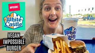 Vegans Try the Impossible Burger at White Castle