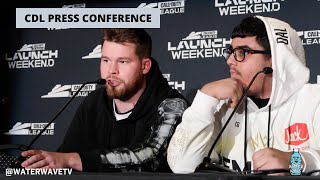 Dallas Empire FULL Press Conference After The Loss to Atlanta FaZe @ Cod League Launch Weekend.