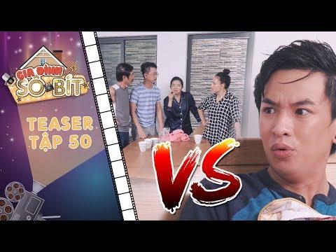 Gia đình sô - bít |Teaser tập 50: Cả nhà bất ngờ chăm sóc tận tình khiến Hoàng Tú trở tay không kịp?