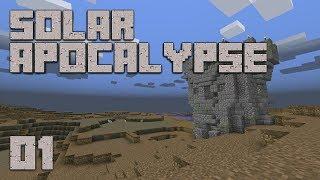 ►Solar Apocalypse LP: LETS GO!!!   Ep. 1   Modded Minecraft Survival◄   iJevin