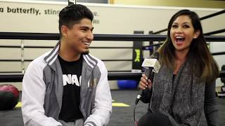EXCLUSIVE- Mikey Garcia: I've ALWAYS  been a clean athlete; I'm bulking up the right way.