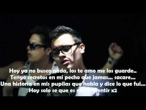 Mis Ojos un Espejo Video Oficial con letra - Mc Aese ft Alfred Cave