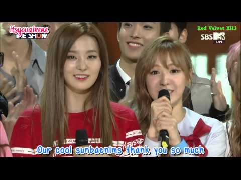 [ENGSUB] 150915 Red Velvet 'Dumb Dumb' 1st WIN