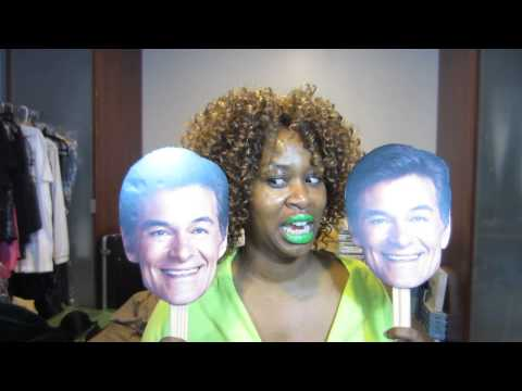 WATCH GloZell CHALLENGES on the DR. OZ SHOW THIS MONDAY 9-9-13