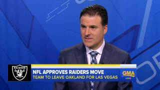 Oakland Raiders receive NFL permission for Las Vegas move