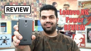 Video Lenovo K6 Power aH5LRkFofdI