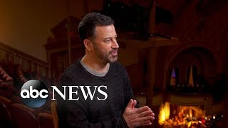 Jimmy Kimmel on his career and why he's taking on politics in the Trump era