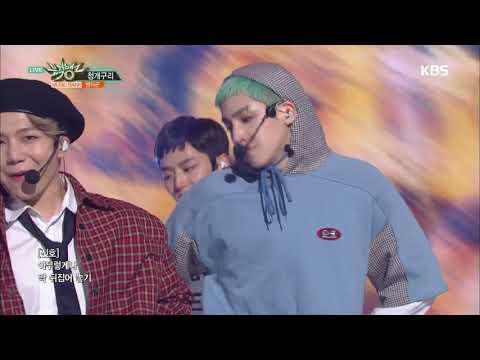 뮤직뱅크 Music Bank - 청개구리(Naughty boy) - 펜타곤(PENTAGON) .20180921