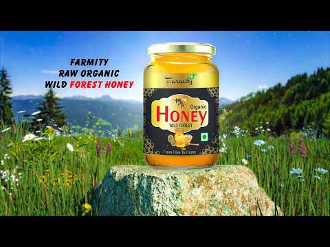 Farmity Raw Organic Wild Forest Honey for Weight Management