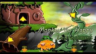 Monkey Go Happy: Leprechauns - Walkthrough