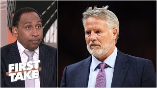 Brett Brown will be fired if the 76ers lose in the first round - Stephen A. | First Take