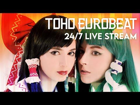 ⚡TOHO EUROBEAT・24/7 Live Stream   Beats to Work, Study, Drive, Uplifting (Official)
