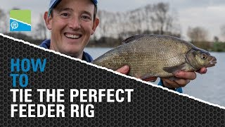 A thumbnail for the match fishing video **TACKLE ROOM TIPS** - How To Tie The Perfect Feeder Rig!