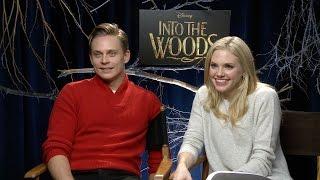 Billy Magnussen & Mackenzie Mauzy on 'Into The Woods'