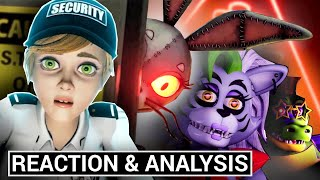 FNAF Security Breach Gameplay Trailer Reaction & Analysis (Five Nights at Freddy's News)