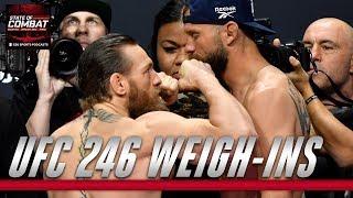 UFC 246 Weigh-Ins | CBS Sports HQ
