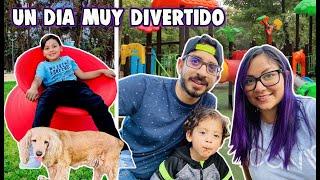 UN DIA MUY DIVERTIDO   PICNIC EN EL PARQUE   Family Juega