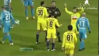اغرب واطرف 10 كروت حمراء في عالم كرة القدم !!!! اضحك مع NEYMAR ...
