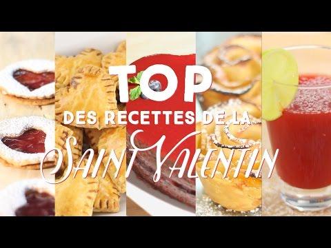 Top spécial Saint-Valentin - CuisineAZ