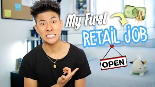 My FIRST Retail Job