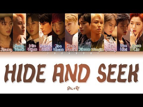 Wanna One (워너원) - 술래 (Hide and Seek) (Color Coded Lyrics Eng/Rom/Han/가사)