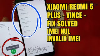 Redmi 5 Plus Efs File