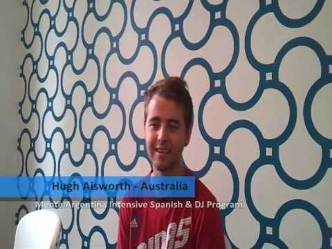 Argentina Review from Hugh, a student from Australia, who participated in the Mente Argentina Dj & Spanish Program.