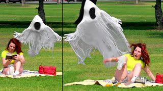 FLYING GHOST PRANK!