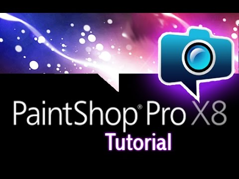 video Corel PaintShop Pro X8