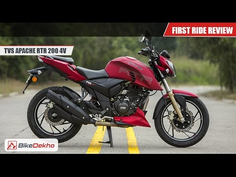 2016 TVS Apache RTR 200 | First Ride | BikeDekho.com