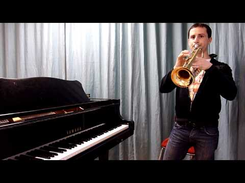 Beginner Trumpet: Finger and tongue co-ordination