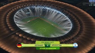 2014 FIFA World Cup Brazil (FIFA 14) - Final - Germany vs. Argentina