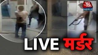 Vardaat: CCTV Captures One person Being Shot Dead In MP