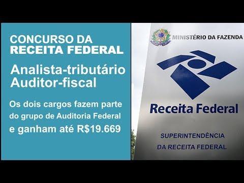 QUER FAZER PARTE DO GRUPO SELETO DE PROFISSIONAIS DA RECEITA FEDERAL?