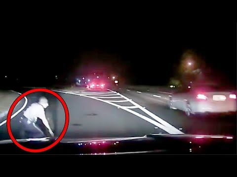 13 Scariest Things Caught on Police Dashcam
