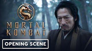 Mortal Kombat - Official Opening Scene (2021) Hiroyuki Sanada