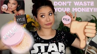 NEW KYLIE COSMETICS SETTING POWDER REVIEW + DEMO  | TANIAXO